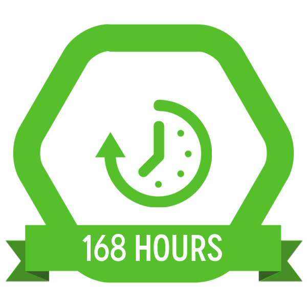 "Badge icon ""Time (6732)"" provided by Richard de Vos, from The Noun Project under Creative Commons - Attribution (CC BY 3.0)"